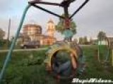 Scary Russian Playground Equipment