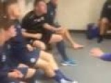 Soccer Team Locker Room Trick Shot