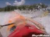 Scary Video Of Kayaker Stuck Underwater