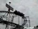 Stuck Roller Coaster Fixed By Music And Teamwork