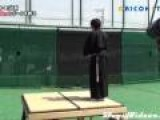 Samurai Slices Fastball
