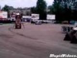 Stunt Car Has A Surprise