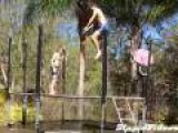 Trampoline Drop Through