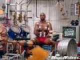 Terry Crews Plays Drums With Muscles