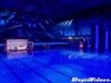 TV Contestant Dives With Erection