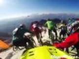 Treacherous Downhill Bike Race