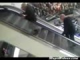 Two Old Men One Escalator