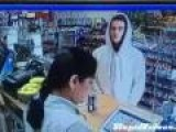 Thief Encounters Tough Shop Clerk