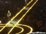U2 Guitarist Falls Off Stage