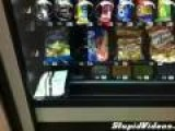 Vending Machine Keeps Candy