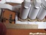 Working V6 Engine From Paper