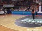 Worst Fan Half-Court Basketball Shot Ever