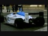 Formula E Car Cruising On The Streets Of Rome