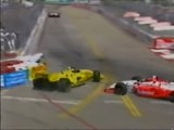 LongBeach95 Tracy Crashes Into DeFerran Replays.avi