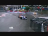 2010 GP2 Monaco Qualifying Cecotto Crashes.avi