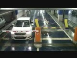 Parking Barrier Vs Bulgarian Girl