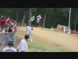 Three Riders Crash At Peoria TT Pro Singles Heat Race