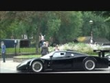 Ferrari FXX And Maserati MC12 Corsa Loud Acceleration In Paris