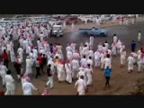 Arabs Cheer And Chase Drifting Pickup Truck!