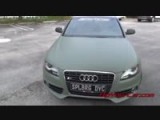 Audi S4 Painted With Camo Green Plasti Dip