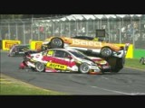 AlbertPark2012.Race2.Whincup Ingall Douglas Reindler Pile Up.avi