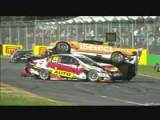 AlbertPark2012.Race2.Whincup Ingall Douglas Reindler Pile Up.avi
