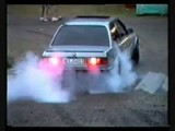 BMW E30 325 Short Burnout