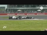 Britain2012 Maldonado Crashes Into Perez