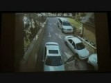 Blonde Parking Mercedes-Benz E-Class EPIC FAIL!