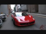 Bugatti Veyron And Ferrari 458 Spider Huge Acceleration