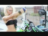 Bike Wash With Miss Supercross Dianna Dahlgren