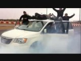 Best Minivan Burnout Ever!