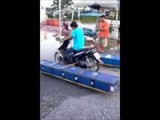 Crazy Contraption! Floating Bike For Thai Flooding!