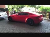 Chrome Matte Aston Martin Vantage! SEXY!