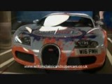 CRAZY Painted Bugatti Veyron!
