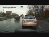 Chinese Mini Car Crash Flips A Volkswagen Golf!