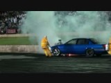 Car Burnout Destroys Engine!