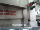Driver's Scary Close Call At The Underground Parking Garage