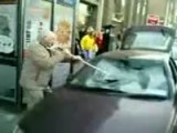 Grandpa Wrecks Car Windshield!