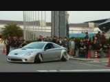 Kawashima Celica Leaving The 2012 Nagoya Exciting Car Showdown