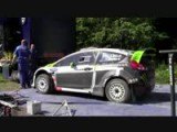 Ken Block Ford Fiesta RS WRC - Finland Tests 2012