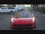 Kobe Bryant Driving His New Ferrari