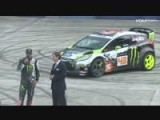 Ken Block And 2014 Ford Fiesta At LA Auto Show