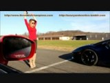 Lamborghini Aventador Drag Race Against Nissan GT-R