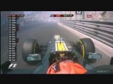MT89 2012 Formula1 Monaco FP1 Kovalainen Engine Failure