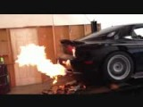 Mazda Bridgeport RX7 On The Dyno Flame Thrower