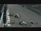 MT89 2011 Formula1 Singapore GP Schumacher Crashes Replays.mkv