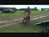 Motorcycles Racing In Mud Fest!