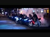 Motorbike Stunts - Night Riding