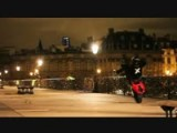 Motorcycle Stunts In Paris